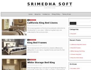 srimedhasoft.com screenshot