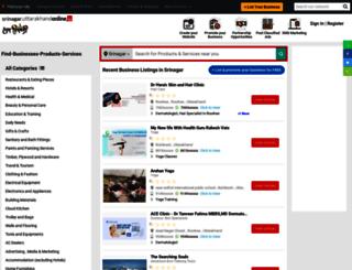 srinagar.uttarakhandonline.in screenshot