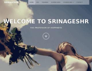 srinageshr.com screenshot