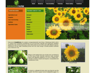 srinidhifarm.com screenshot