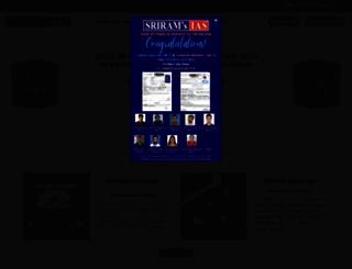 sriramsias.com screenshot