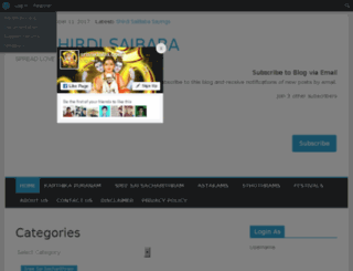 srisaidatta.com screenshot