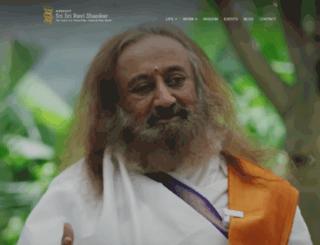 srisri.org screenshot