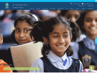 srivani.edu.in screenshot
