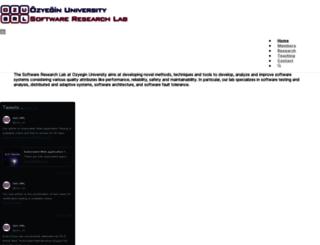 srl.ozyegin.edu.tr screenshot