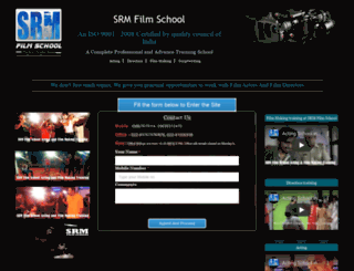 srmfilmschool.com screenshot
