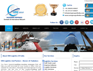 srmgroupofindia.com screenshot