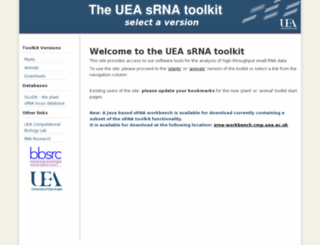 srna-tools.cmp.uea.ac.uk screenshot