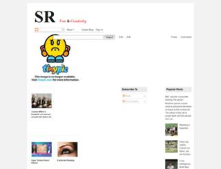 srnfunandcreativity.blogspot.se screenshot