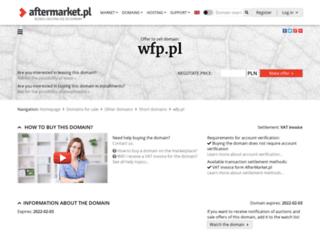 sroda.wfp.pl screenshot
