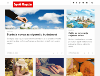srpskimagazin.com screenshot