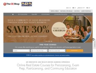 srs.theceshop.com screenshot