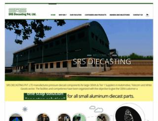 srsdiecasting.com screenshot
