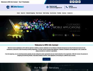 srsinfoconnect.com screenshot