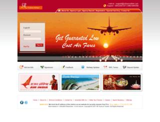srtoursonline.com screenshot