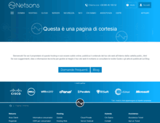 srv-hs1.netsons.net screenshot
