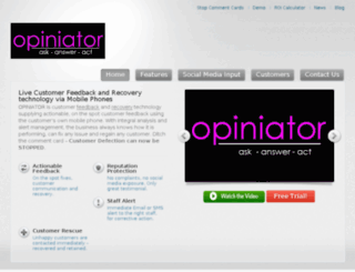 srv.opiniator.com screenshot