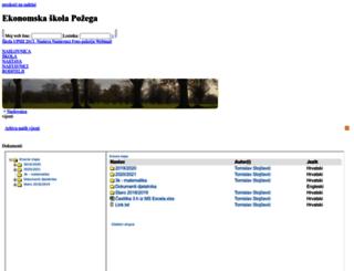 ss-ekonomska-pozega.skole.hr screenshot