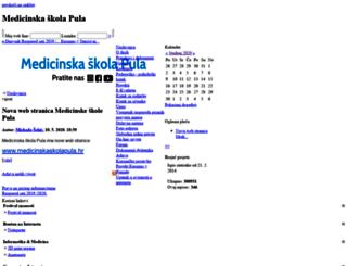 ss-medicinska-pu.skole.hr screenshot