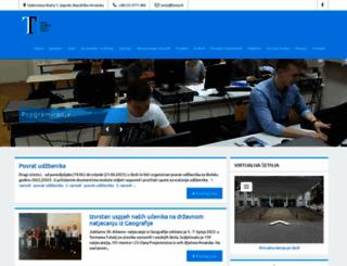 ss-prva-tehnicka-tesla-zg.skole.hr screenshot