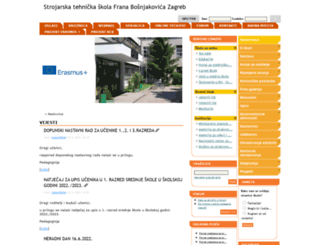 ss-strojarskatehnicka-fbosnjakovica-zg.skole.hr screenshot