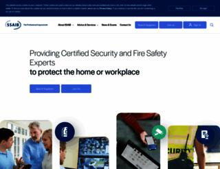 ssaib.org screenshot