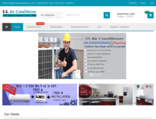 ssairconditioner.com screenshot