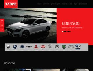 ssangyong-elvis.ru screenshot