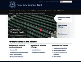 ssb.state.tx.us screenshot