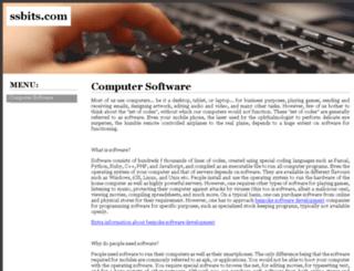 ssbits.com screenshot