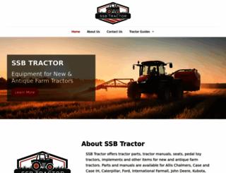 ssbtractor.com screenshot