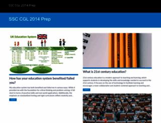 ssc-cgl2014.in screenshot