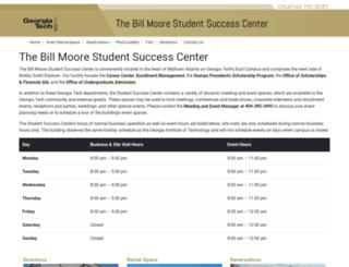 ssc.gatech.edu screenshot