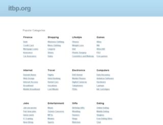 ssc.itbp.org screenshot