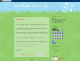 ssccoachingedumentor.blogspot.com screenshot