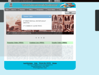 ssccw.wbpar.gov.in screenshot