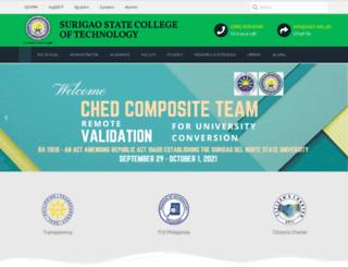 ssct.edu.ph screenshot