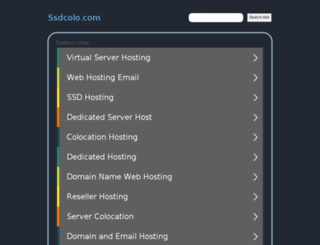 ssdcolo.com screenshot