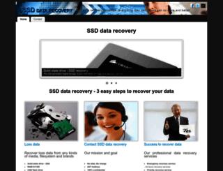 ssddatarecovery.co screenshot