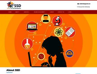 ssdindia.co.in screenshot