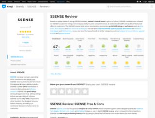 ssense.knoji.com screenshot