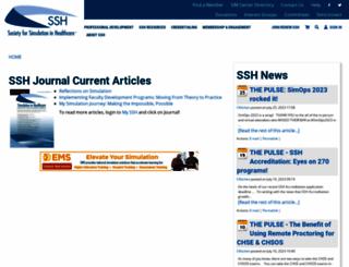 ssih.org screenshot