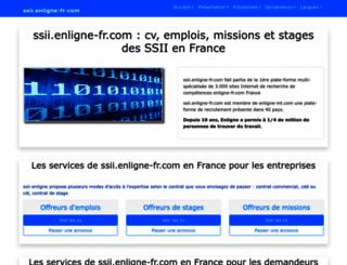 ssii.enligne-fr.com screenshot