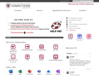 ssii.ucm.es screenshot