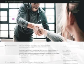 ssinfotechnologies.com screenshot