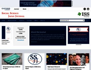 ssjj.oxfordjournals.org screenshot