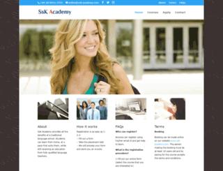 ssk-academy.com screenshot