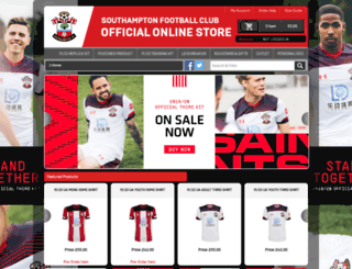 ssl.saintsfc.co.uk screenshot