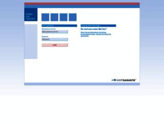 ssl.wertgarantie.de screenshot
