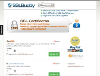 sslbuddy.com screenshot